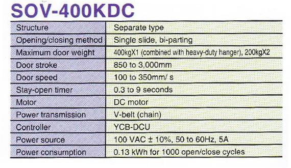DOV 400 KDC